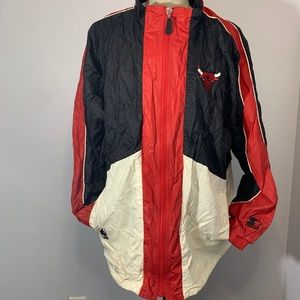 Vintage Chicago Bulls Starter Jacket NBA EUC